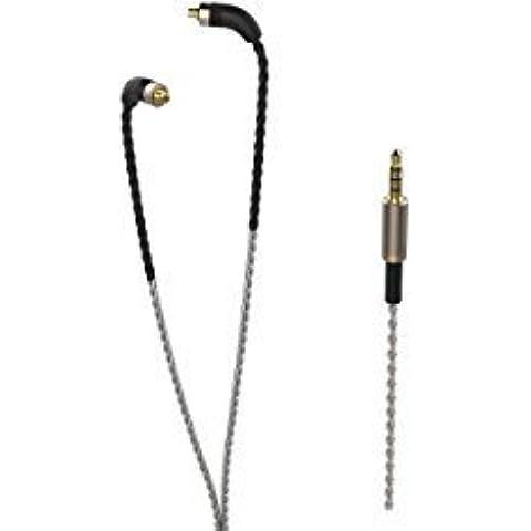 FIDUE - Cavo di ricambio in-ear, con connettore standard MMCX
