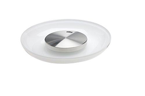 Zilofresh 18201 Lufterfrischer Raum XL , Weiß, inkl. Glas-Schale, gegen unangenehme Gerüche in Räumen bis 60 m², ohne chemische Zusätze, Made in Germany