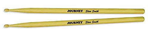 Journey Steve Smith Drumsticks Trommelstäbe Stöcke Set B&W Print (Smith B W)