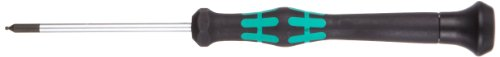 Wera 2052 Elektroniker-Sechskant-Kugelkopfschraubendreher, 1,3 x 60 mm, 1 Stück, 05118089001