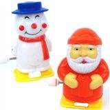Clockwork Santa & Snowman, 1 of each supplied