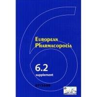 European Pharmacopoeia : Supplement 6.2