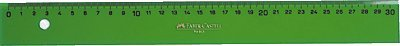 Faber Castell 734185 - Regla técnica graduada, 60 cm, color verde