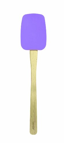 Tovolo Spatula with Wood Handle, Lavender