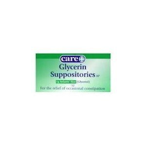 Glycerin Suppos Infant 1G Care 12