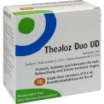 Thealoz Duo Hypotonic Dry Eye Drops 0.15% Unidose