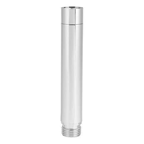Nikou Shower Extension Tube - 4-Zoll-Duschkopf-Extender senkt vorhandene Duschkopf-Handbrause Rundrohr mit verchromtem Zubehör für Badezimmerzubehör, Edelstahl