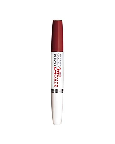 Maybelline Barra de Labios Superstay 24H (Larga duración), Tono 542 Cherry Pie