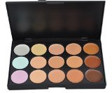 15 Colors Concealer Makeup Palette Camouflage Concealer for Face Eyeshadow Palette