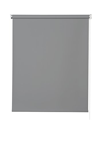 Estores Basic- Enrollable Opaco,  Gris Medio, 150x175 cm