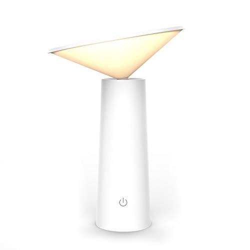XZANTE Led Schreibtisch Lampe Für Schlafzimmer Kinder Büro Kinder Studie Lesen Led Tisch Lampe Nacht Licht Flexible Tisch Leuchte (Wei?)