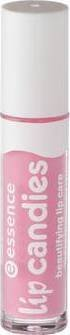 Essence Lip Candies beautifying lip care, Gloss à lèvres enrichi en aloe vera pour des lèvres douces et brillantes de couleur n°05 Pink lollipop, 4 ml, 0.13 fl.oz