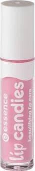 Essence Lip Candies beautifying lip care, Gloss à lèvres enrichi en aloe vera pour des lèvres douces et brillantes de couleur n°05 Pink lollipop, 4 ml, 0.13 fl.oz