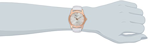Kenneth Cole New York Women's KC2857 Rock Out Rose Gold-Tone Stainless Steel Watch with Leather Band