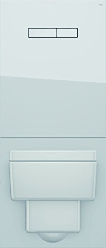 Tece TECElux-WC-Glasplatte für Standard WC 430x445x16mm weiß, 9650100