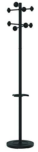 Unilux 100340694 - Perchero, 8 colgantes, color negro