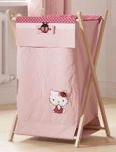 Baby Bedding Design Wäschekorb Hello Kitty (Bett Behindern)