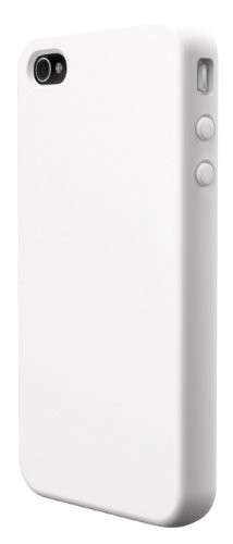 SwitchEasy Colors Silikonhülle für Apple iPhone 4 4S weiß White colours weiss
