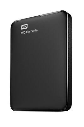 Western Digital Elements 2TB Portable External Hard Drive (Black)
