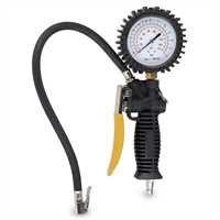 Pistola manometro per compressore gonfiaggio gomme pneumatici auto POWAIR0102
