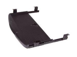 Tastaturauszug, für unter den Schreibtisch, Schwarz, ohne Maus-pad (Sliding Laptop Regal)
