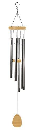 Klangspiel Windspiel 6 Metall Klangröhren Feng Shui Garten Dekoration 117 cm
