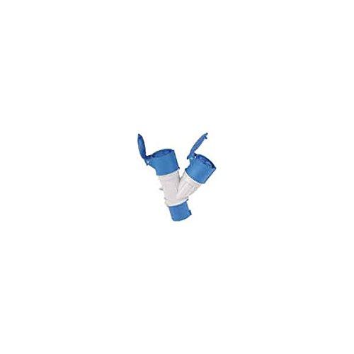 Newsbenessere.com 21pq8IRPaaL Adattatore Industriale 2 Prese Cee 2P+T IP44 Blu Maurer