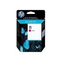 HP Original C4837A / 11, für DesignJet 120 Premium Drucker-Patrone, Magenta, 2000 Seiten, 28 ml - 2300-drucker Inkjet-patronen