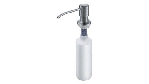 Franke Novinox 0.2L Acero inoxidable - Dispensador de jabón (50 mm, 50 mm, 255 mm)