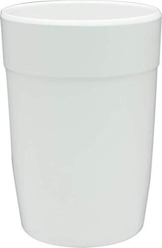 Zak Designs Mono - Verre 35 cl - Blanc
