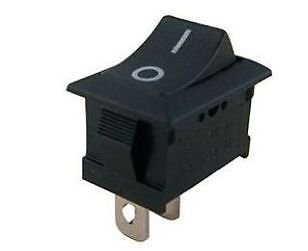 2 Pin SPST ON/Off Switch for Electronic Circuit Pack of 10 pcs