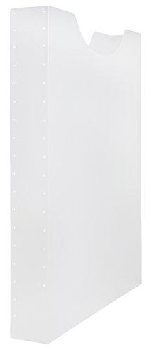 Idena 225164 - Heftbox, A4 Hochformat, Füllhöhe, 4 cm, transparent