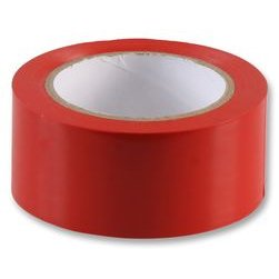 Kleber Hazard Kennzeichnung Red Tape 50mm x 33m