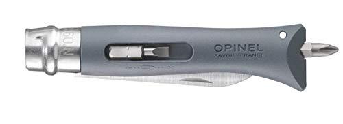 Opinel Couteau Bricolage Gris 21,35 x 2 x 2,18 cm