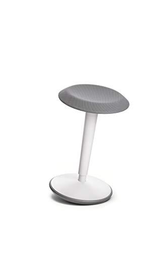 Sedus se:fit, Hocker, Stehhocker, Stehsitz, Stehhilfe, weiß, Kunststoff, 53-80 cm