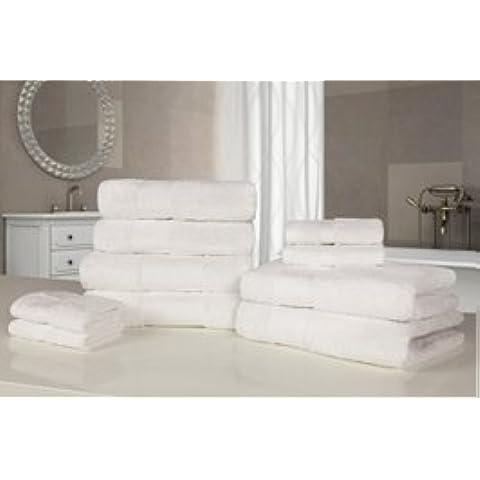 Alexander Anderson-Asciugamano morbido in cotone egiziano, 10 pezzi, Set asciugamano