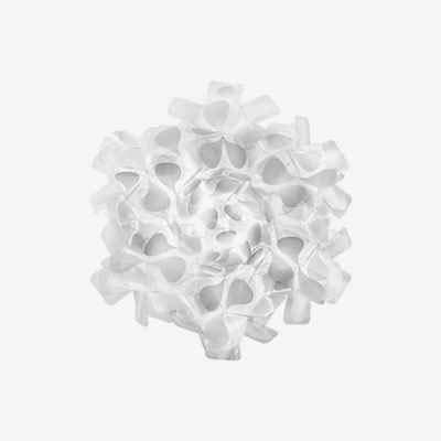 Slamp Clizia Ceiling Lampe Paret/Soffitten, Weiß -
