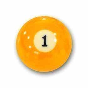 "Billardkugel Nr.1 Pool-Ball ""Favorite"" Nr. 1"