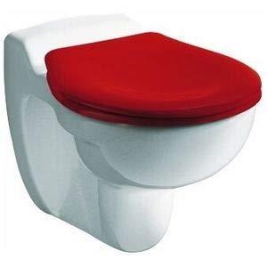 Keramag 573334000 Kinder-WC-Sitz mit Deckel, Farbe: weiss