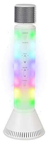 Micrófono de karaoke de Singsation 808, un sistema todo en uno solo  Karaoke, con micrófono Karaoke y altavoz Bluetooth inalámbrico