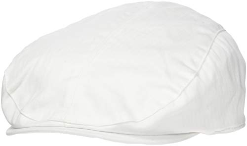 Result - casquette plate GATSBY CAP - mixte adulte homme / femme (S/M, Blanc)