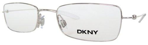DKNY Donna Karan Herren / Damen Brille, Lesebrille & GRATIS Fall 6250 028 Silber
