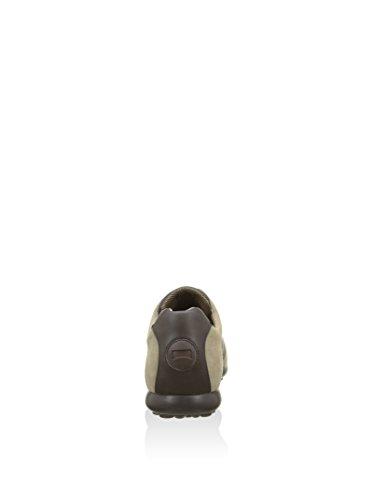 Sneaker Camper Pelota XL M'S in camoscio beige sabbia e pelle marrone Marrone
