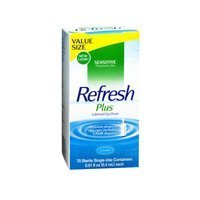 Refresh Refresh Plus Lubricant Eye Drops Single-Use Containers, 50 ct (Pack of 2) by Refresh (Single Use Container)