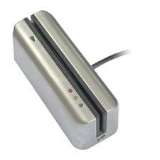 Cierre tarjeta banda magnética lector RDR cromo satinado