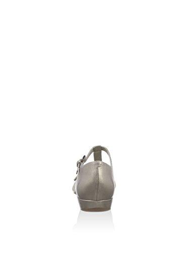 Ecco - Bouillon Sandal Ii, - Femme Argent