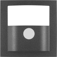 Hager 11901606–Deckel Rauchmelder Bewegung, S/B, anthrazit