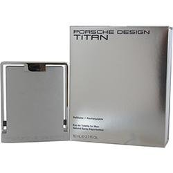 Porsche Design Titan Eau de Toilette Spray (Rechargeables) 80 ml