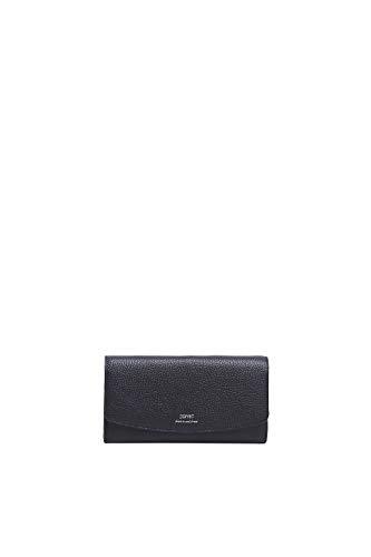 ESPRIT Geldbörse im Kellner-Format, aus Leder
