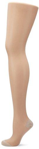ELBEO Damen Glanz Fein Strumpfhose Panty Extraweit, 900208, Gr. 52 (Herstellergröße: 49-51/53), Braun (diamant 3700)